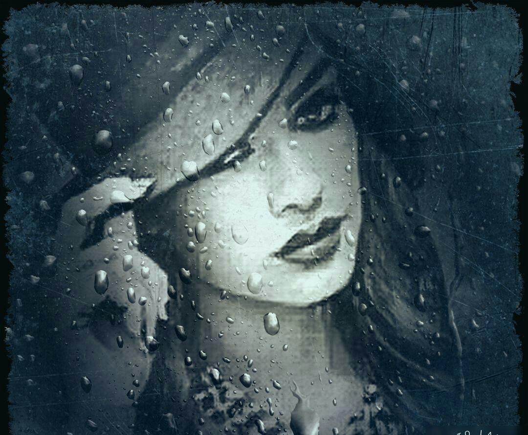 شیشه پنجره را باران شست از دل تنگ من اما چه کسی نقش تو را خواهد شست.. امروز اولین بارون پاییزی کرج اومد نرگس23