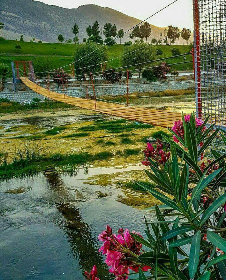 پل معلق زیبا  خرم آباد **abdolla**