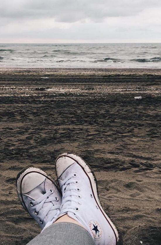 مثل ساحل  آرام باش  تا ديگران مثل دريا  بی قرارت باشن elena7